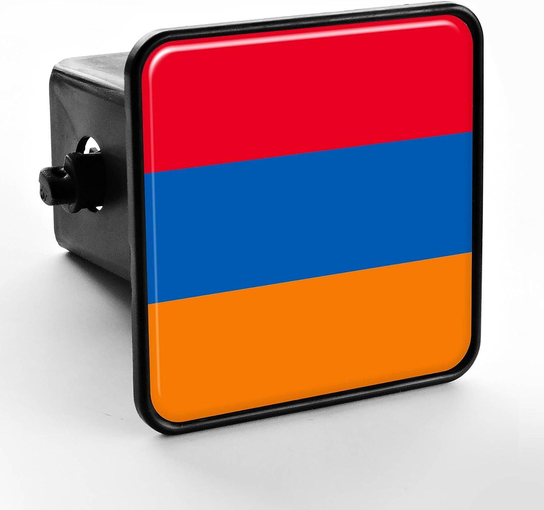 Trailer Hitch Cover - Flag of Armenia (Armenian)