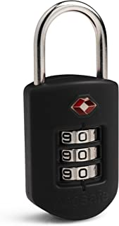 Pacsafe PS10260100 Luggage Lock, Black, Combination Lock