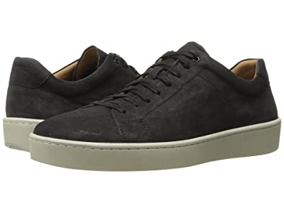 Vince Slater Leather Sneaker (Black) Men