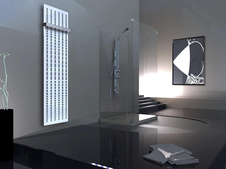 Szagato Broken Mirror 3 Height 180 X 47 Cm 1118 Watt Dark Grey Metallic White 1 Towel Rail Modern Bathroom And Living Room 15 Szagato Brand Made In Germany Bathroom Medium Amazon De Baumarkt