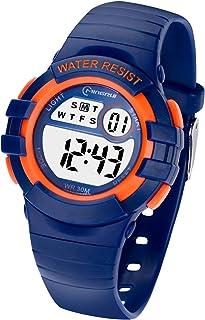 comprar comparacion Reloj Niños Niña Digital,Reloj Infantil Digital Multifunción con Pantalla LED Impermeable para Niños, Niñas Reloj Infantil...
