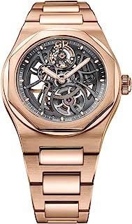 Girard Perregaux Laureato Skeleton Rose Gold Automatic Mens Watch