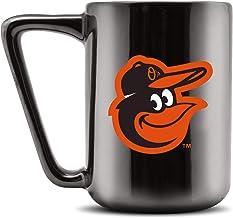 Duck House MLB Baltimore Orioles Ceramic Coffee Mug - Metallic Black, 16oz