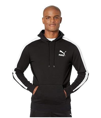 PUMA Iconic T7 Hoodie TR (PUMA Black) Men