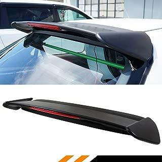 Cuztom Tuning Fits for 1996-2000 Civic EK EK9 3 Door Hatchback Type-R Style Roof Spoiler Wing W/LED Light