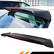Cuztom Tuning Fits for 1996-2000 Civic EK EK9 3 Door Hatchback Type-R Style Roof Spoiler Wing W/LED Light