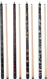GARSEN Handmade Painting Billiard Pool Stick Pool Cue 58 inch House Bar Cue Stick