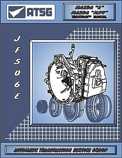ATSG JATCO JF506E Mazda Manual de reparo de transmissão (JF506E conjunto de solenoide de câmbio JF506E kit de reconstrução...