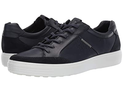 ECCO Soft 7 Relaxed Sneaker (Navy/Night Sky) Men