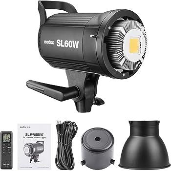 Godox SL60W SL-60W 5600K Daylight Studio Continuous LED Video Light Lamp w/Bowens Mount