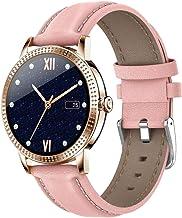 Smart horloge, 1.08 full touch screen ip67 waterdichte stappenteller fitness tracker horloge, slim sporthorloge met slaapm...