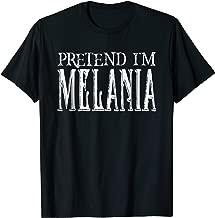 Pretend I'm Melania Pretend Costume T-Shirt COUPLES