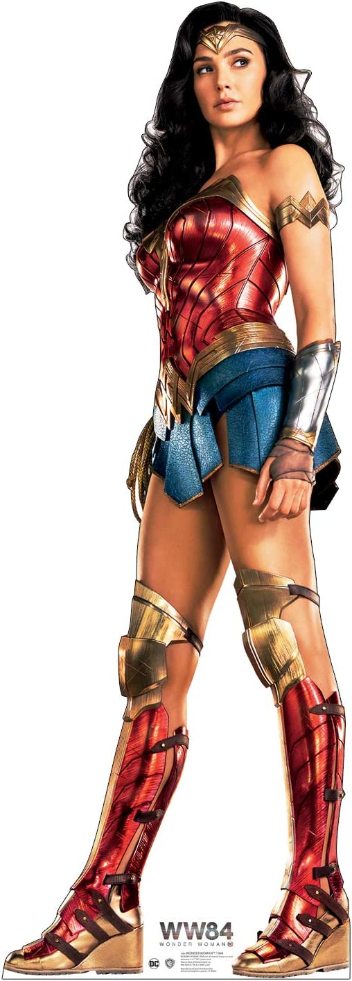 Courier shipping Sales of SALE items from new works free Advanced Graphics Wonder Woman 1984 Cardboard Cutout S Size Life