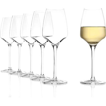 Weißweinglas 6 Stück Weißwein Glas Gläserset Weinglas Kelchglas Weingläser