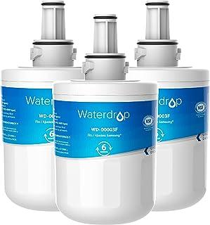 3X Waterdrop DA29-00003F Filtre à Eau du Réfrigérateur, Compatible avec Samsung Aqua Pure Plus DA29-00003F, HAFIN1, DA29-0...