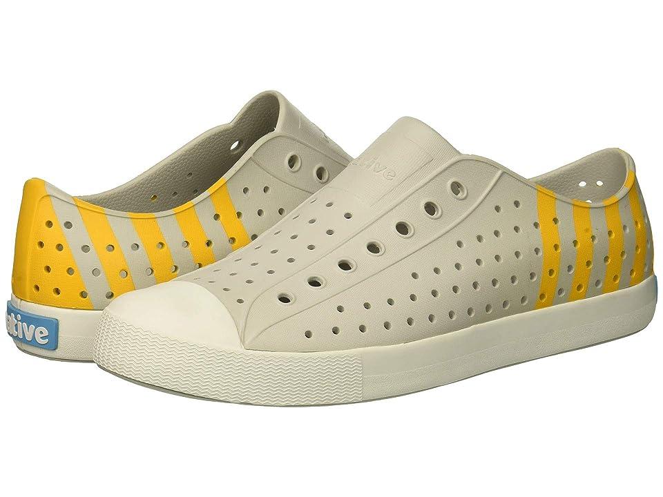 Native Shoes Jefferson (Mist Grey/Shell White/Beanie Stripe) Shoes