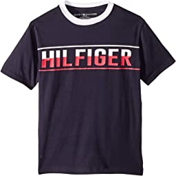 Hilfiger Logo Graphic Tee (Big Kids)