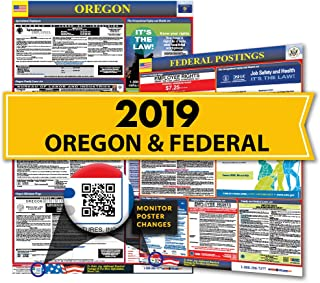 2019 Oregon State & Federal Labor Law Posters for Workplace Compliance