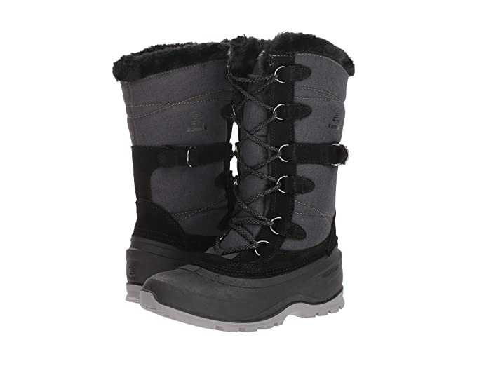 Kamik  SnoValley 2 (Black) Womens Cold Weather Boots