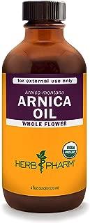 Herb Pharm Certified Organic Arnica Oil - 4 Ounce
