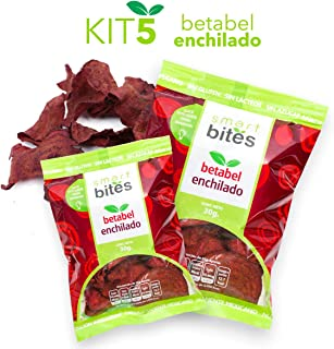 Smart Bites Chips de Betabel Enchilado, 150 g, 5 Piezas