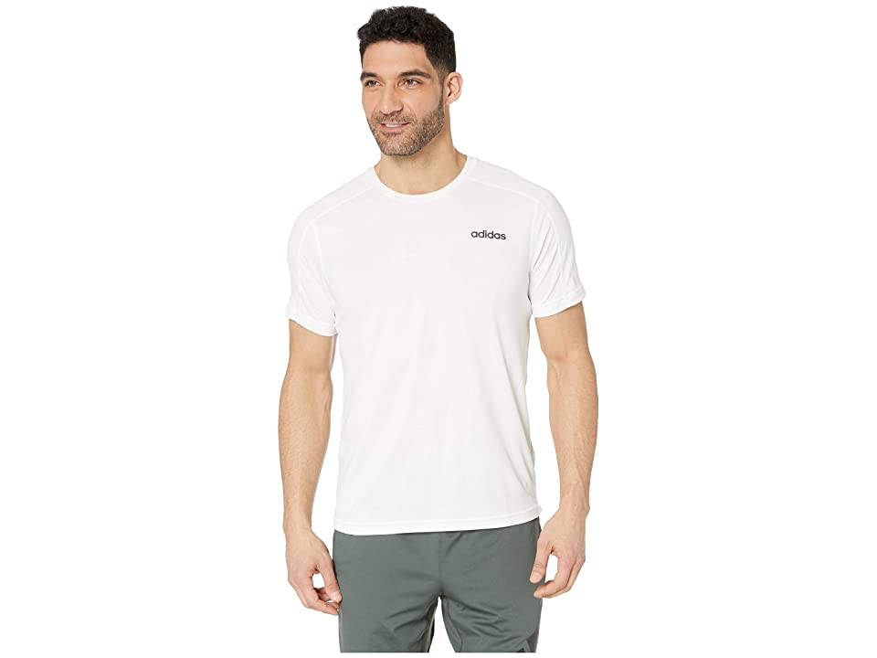 adidas Designed 2 Move Tee (White) Men's T Shirt