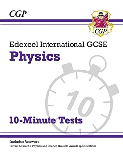 Grade 9-1 Edexcel International GCSE Physics: 10-Minute Tests (with answers)