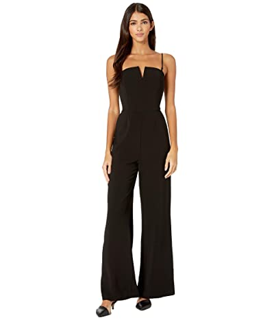 WAYF Brigham Convertible Strap Jumpsuit (Black) Women