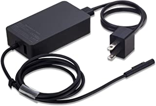 36W 12V 2.58A Power Adapter Charger for Microsoft Surface Pro 3 Pro 4 Pro 5 with USB Charging Port and 6ft Cord