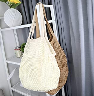Net Bag with Liner (Ivory)