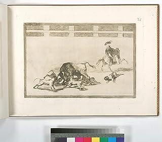 Prints Poster - Echan perros al toro.