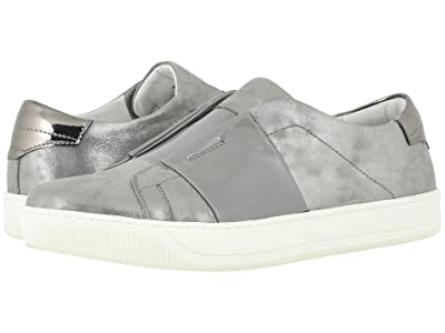 Johnston & Murphy Eden (Gray Metallic Suede/Patent) Women