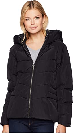 York Short Active Accent Down Puffer