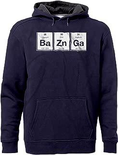 Unisex Bazinga Periodic Table Big Bang Theory Sheldon Cooper Premium Hoodie
