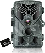 RINKMO Trail Camera, WiFi Game Camera with 20MP 1080P, Night Vision Motion Activated Waterproof IP66, 44pcs Infrared LED, ...