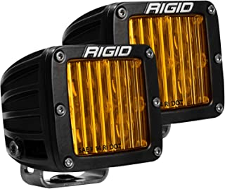 RIGID D-SERIES PRO DOT/SAE J583 FOG LIGHT SELECTIVE YELLOW SURFACE MOUNT | PAIR (set of 2), 504814
