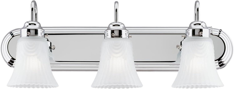Westinghouse Lighting 6652200 3 Light Bracket Bathroom Light