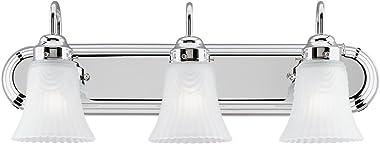 Westinghouse Lighting 6652200 3 Light Bracket Bathroom Light,Three Light