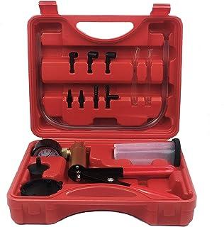 ThreeH Bremsenentlüftergerät Vakuumpumpe Bremsenentlüfter für Auto Motorrad LKW Tester Mit Vakuumtester Tragetasche MA06