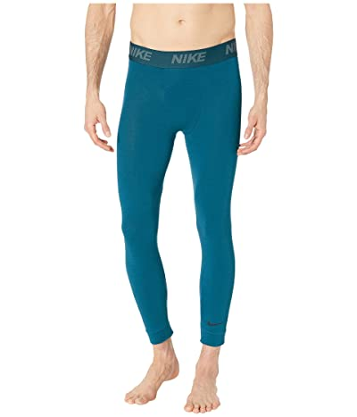 Nike Dry 3/4 Tights Transcend (Nightshade/Green Abyss/Black) Men