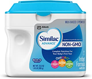 Similac 雅培 婴儿 Non-Gmo奶粉,12个月 - 1.45磅,23.2盎司(658g)
