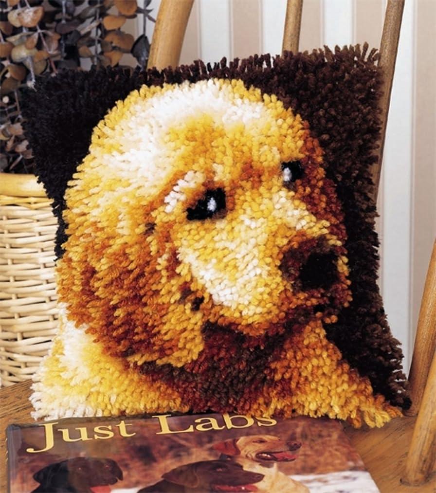 WonderArt 4670 Latch-Hook Kit, Puppy Love, 12