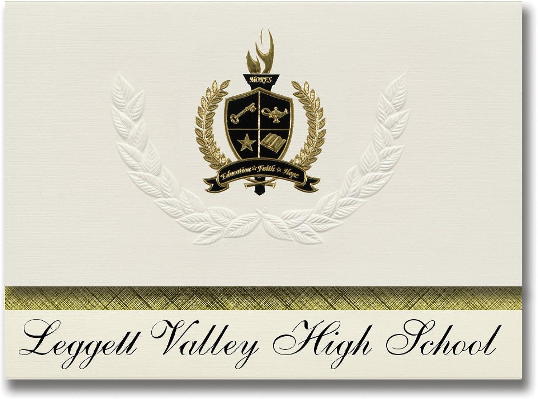 Signature Announcements Leggett Valley High School (Leggett, (Leggett, (Leggett, CA) Abschlussankündigungen, Präsidential-Stil, Grundpaket mit 25 Goldfarbenen und schwarzen metallischen Folienversiegelungen B0795VSHMG | Schöne Farbe  1d8852