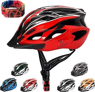 Casque V/élo VTT et VTC Adulte Jeunesse Unisexe Casque de Cyclisme de R/églable de Sport pour BMX Skate Scooter Patines Con/çu pour la S/écurit/é des Utilisateur Marven