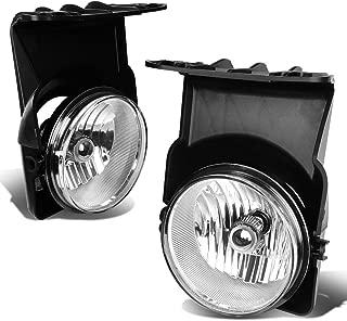 For GMC Sierra 1500/2500 / 3500 Pair of Driving Fog Light (Clear Lens)