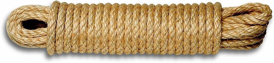 Chapuis AL10 gedraaid sisal touw - 610 kg - diameter 10 mm - lengte 10 m