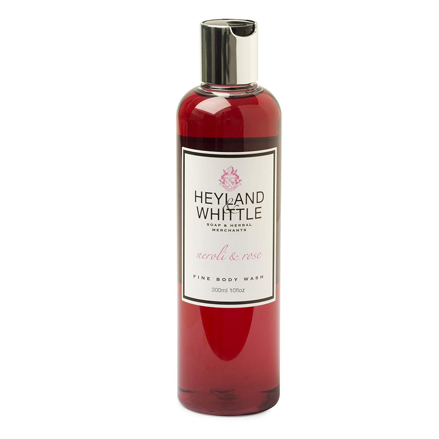 媒染剤終点ワゴンNeroli & Rose Body wash by Heyland & Whittle