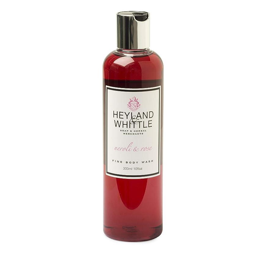 シルク乱れ殺人者Neroli & Rose Body wash by Heyland & Whittle