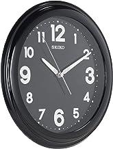 QXA721KR SEIKO LumiBrite Black Office Clock Diameter 28.7 cm