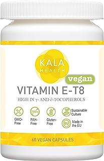 Kala Health Vitamin E-T8 60 Vegan Capsules - Provides All 8 Forms of Vitamin E Including All 4 Tocotrienols...
